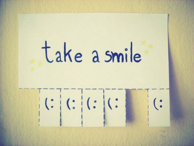 #11: Make one of these. Simple, AND it will actually make someone smile.