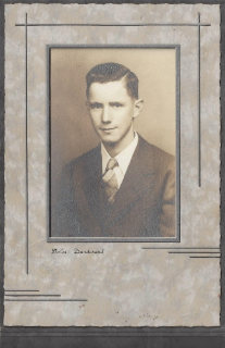My grandpa's high school graduation picture in May of 1944. Just weeks later he was drafted.