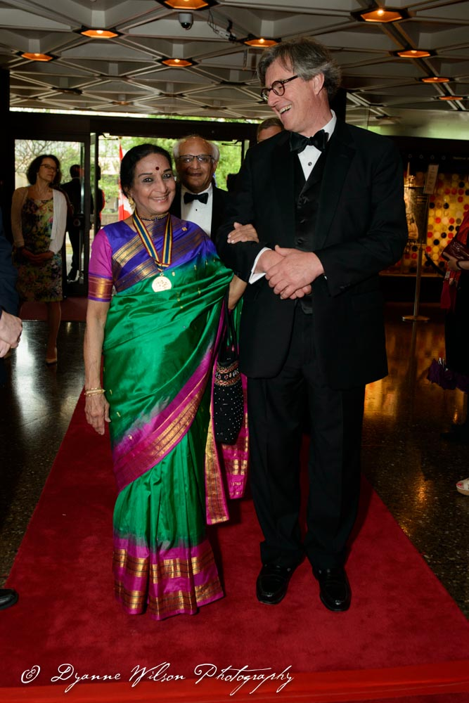 Menaka Thakkar, Dancer, Choreographer and Teacher and Douglas Knight, Chair, Governor General's Performing Arts Awards Foundation