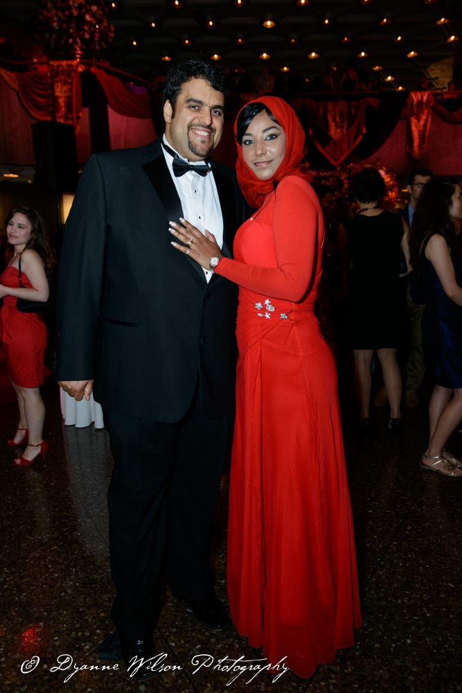 Waleed G. Qirbi, Director of Business Development, Canspect Corporation and his wife Fatoum Qirbi