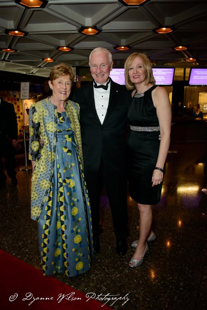 Sharon Johnston, and her husband the Governor General of Canada David Johnston and Mrs. Laureen Harper