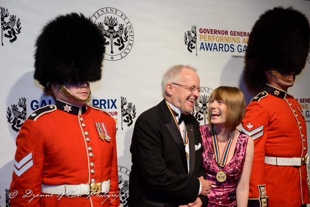 Award winners Eric Peterson,  one of Canada's most accomplished actors and Sarah Polley, Director, screenwriter and actress
