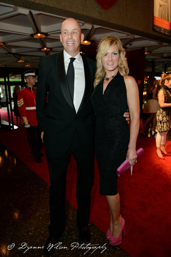 Huw Williams, President of Impact Public Affairs and his wife Barbara Barrett, Director of Communications, Jaguar Canada