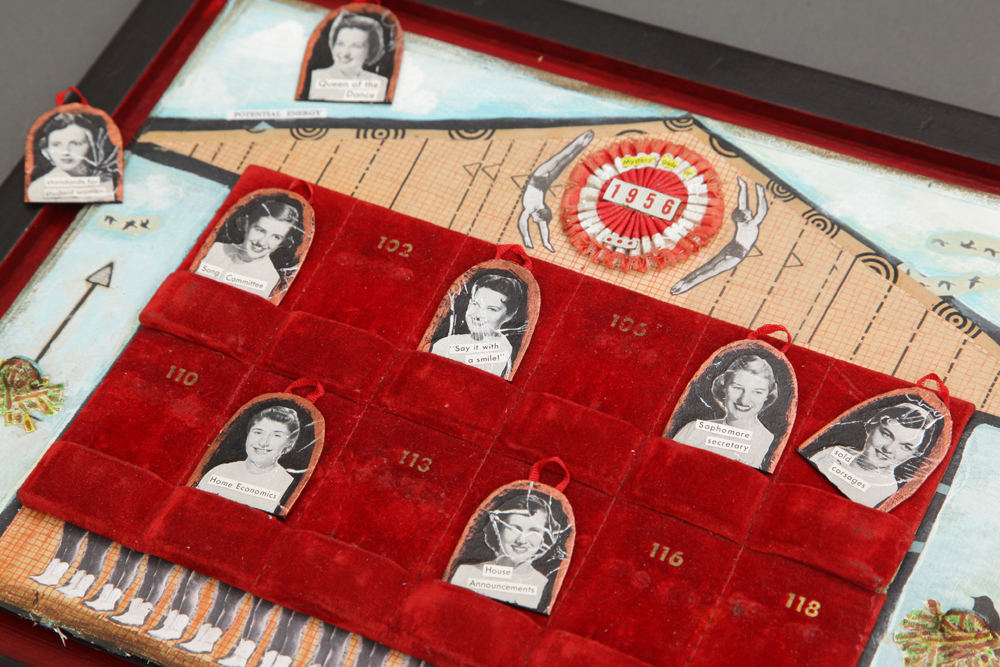 The Mystery Girls of 1956 - Play with the pieces!