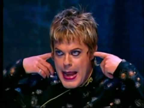 Eddie Izzard vehemently agrees with me...I imagine.  And he's a rampantly creative human, so he should know.