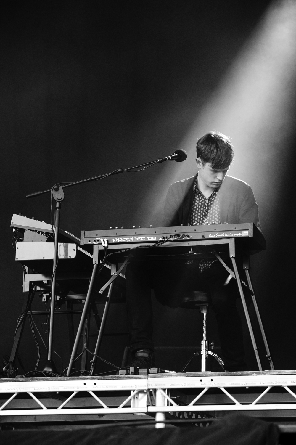 James Blake: Distributor of the world's scariest basslines.