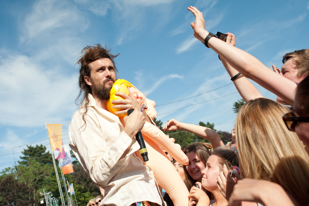 Edward Sharpe (and inflatable doll)