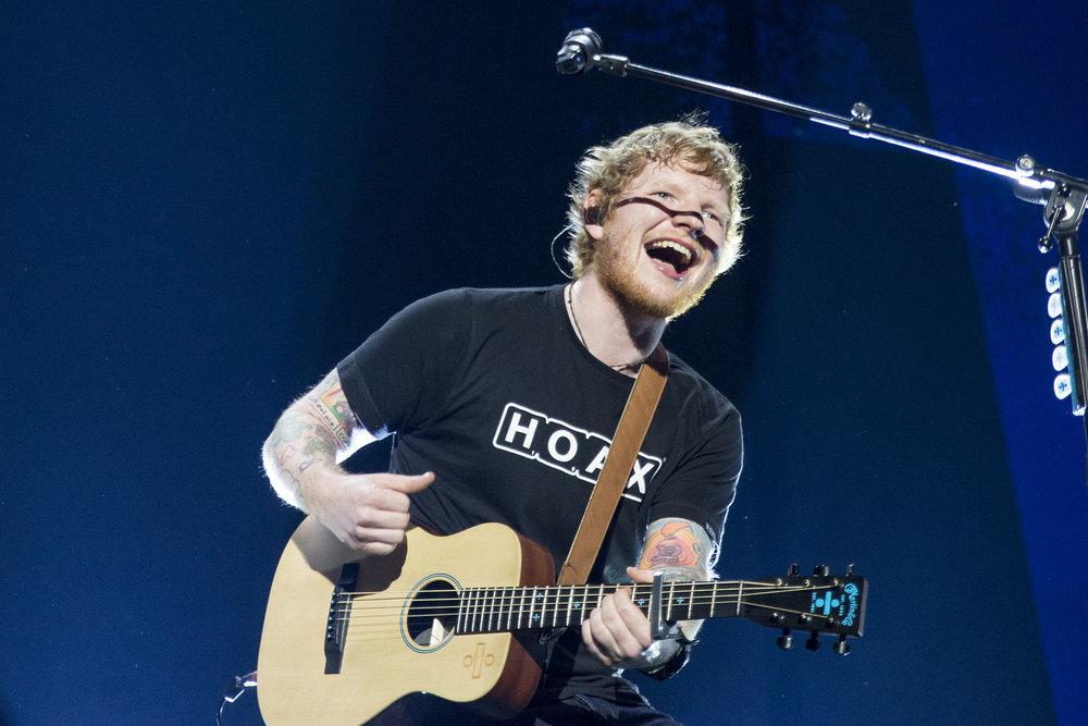 Ed Sheeran Dublin photography