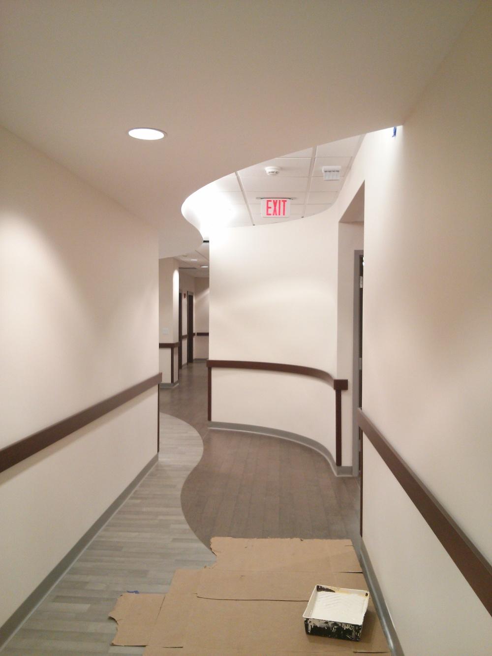 View down Corridor