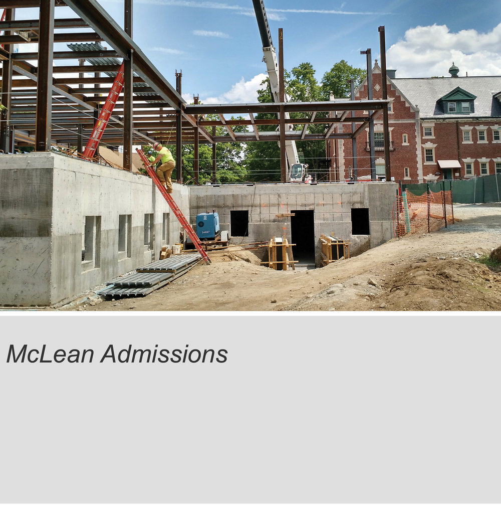 McLean Admissions Structural