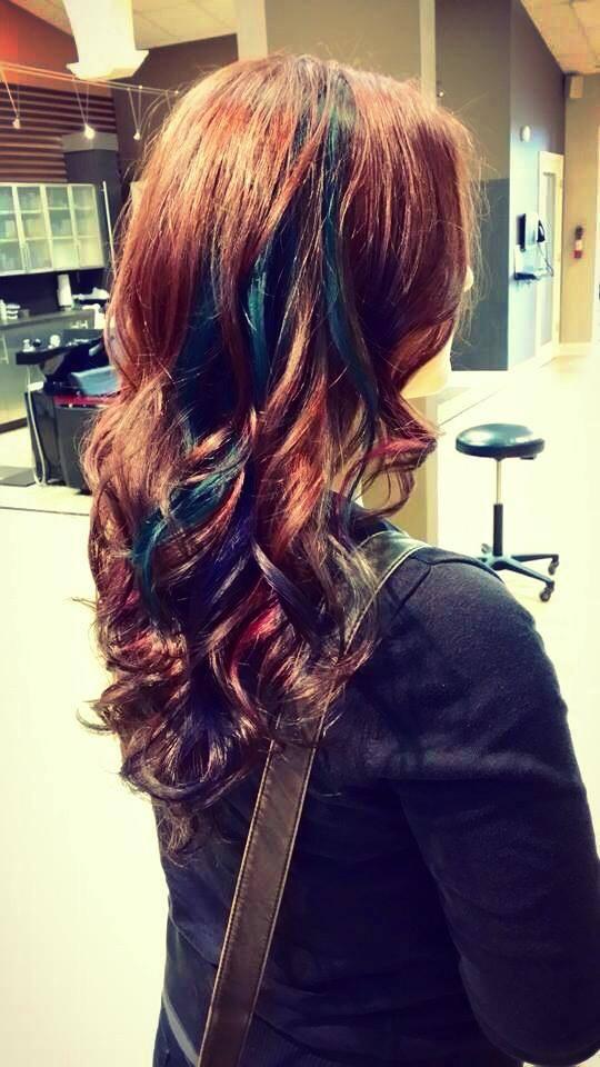 Burst of color by Designer Brittany