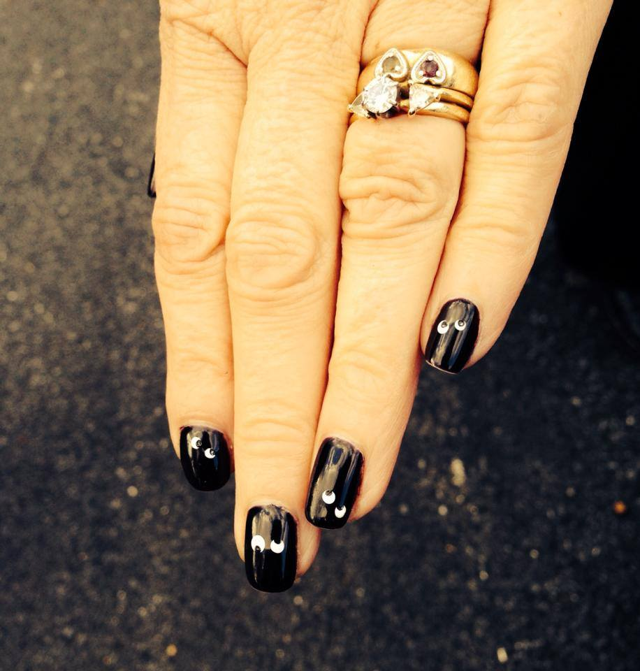 Halloween nails by Gudrun
