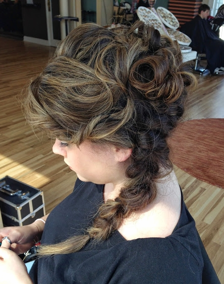 Side braid by New Talent Brie