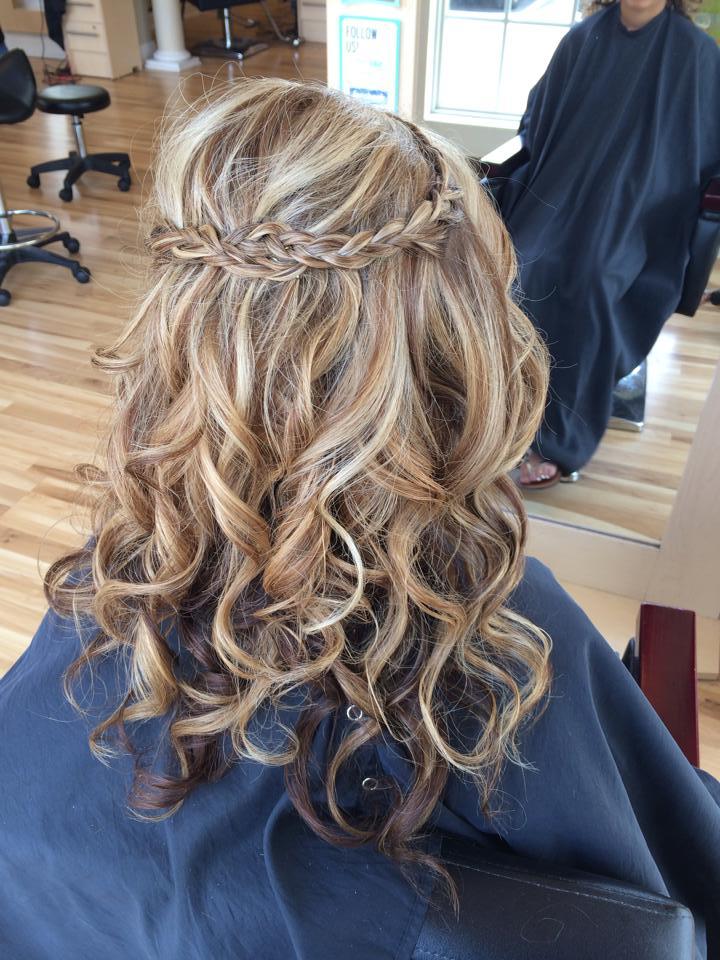 Prom curls
