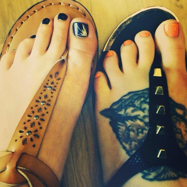 Summer Pedicures - Nail Designs