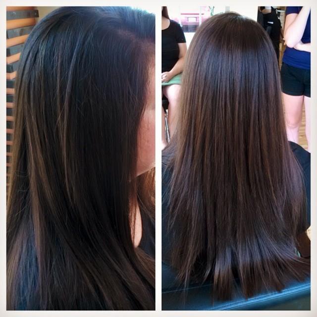 Subtle Ombre Hair Color