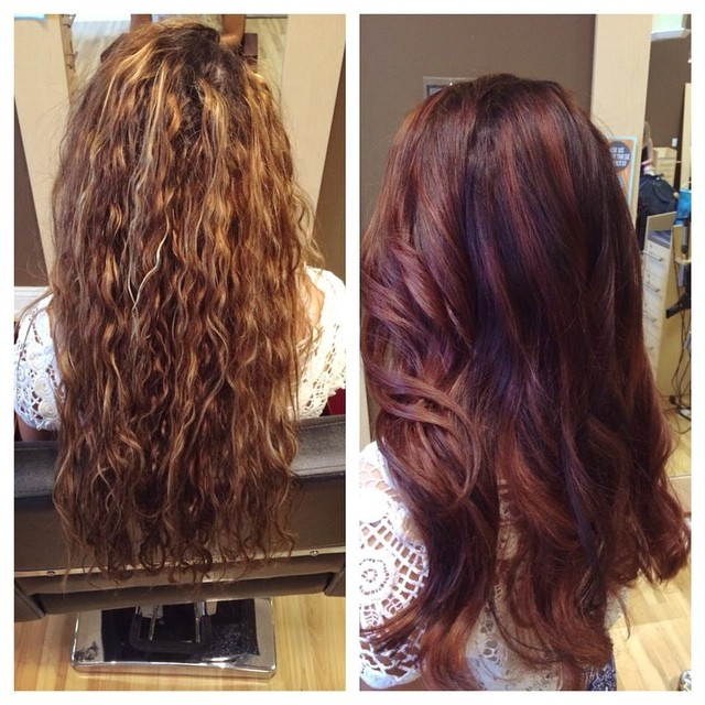 Hair Color - Before & After