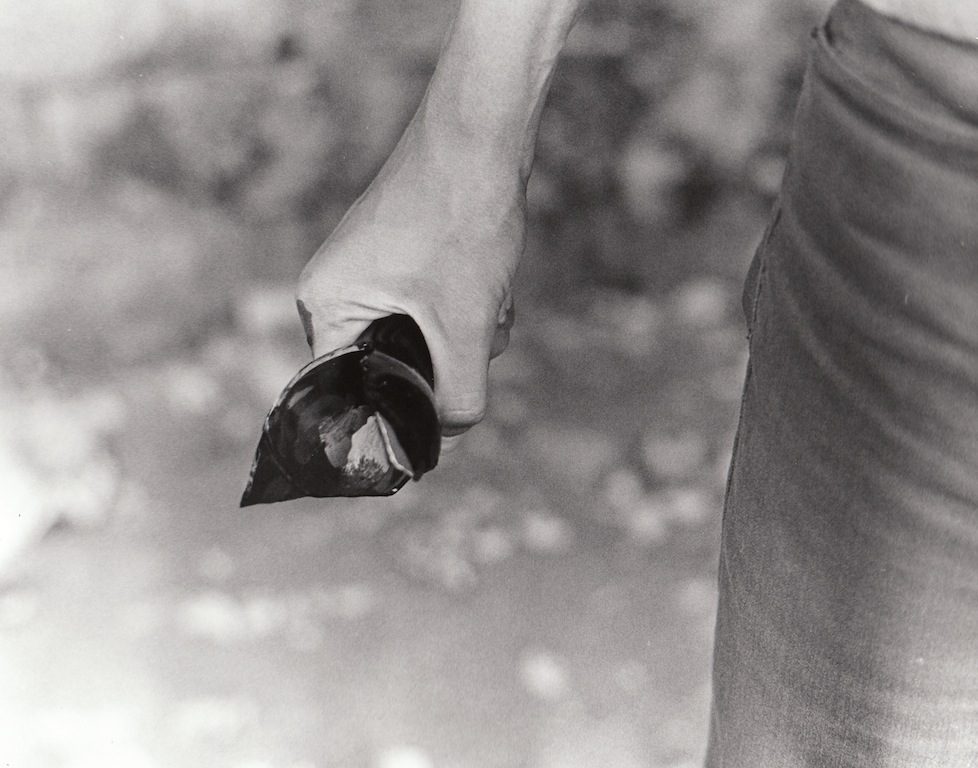 "Photography Performed Assignment (photo 1- black and white)   2012   Silver Gelatin Print   8""x10"""