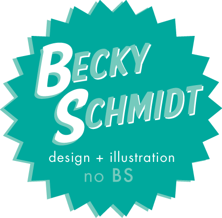 Becky Schmidt design and illustration