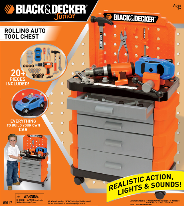Black and Decker™ Rolling Auto Tool Chest
