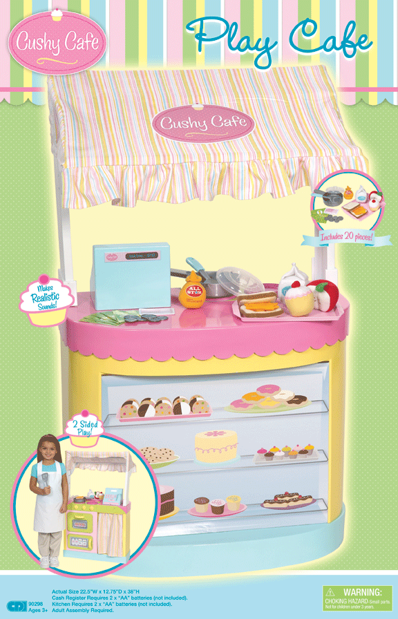 Cushy Cafe™ Play Cafe