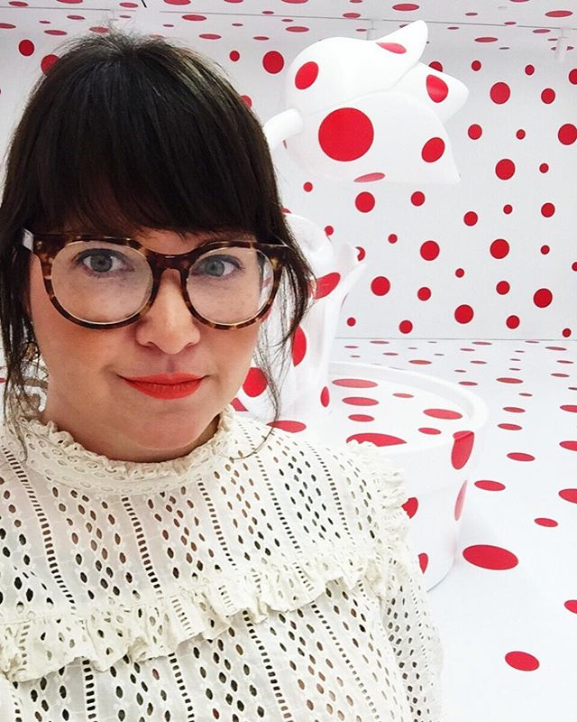 """""""With just one polka dot, nothing can be achieved."""" - Yayoi Kusama"""