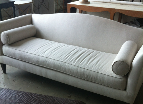 Imagine this reupholstered in missoni fabric
