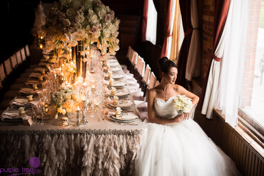 Photo by Purple Tree Photography. This was an editorial done with world famous floral and event designer Karen Tran.