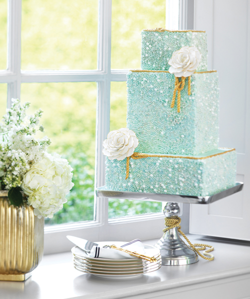 One of our Connie Cupcake Luxury Cakes shot for WeddingBells Magazine at SUNNYBROOK
