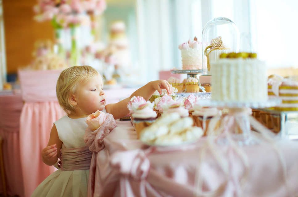 One of our sweet tables from a Distinct Occasions editorial. Photo by Sager Weddings