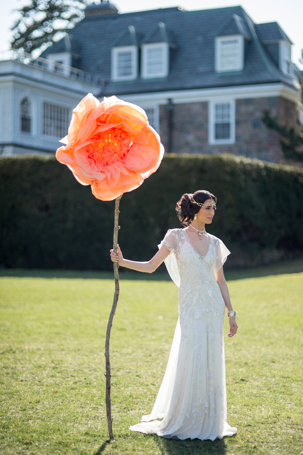 A stunning editorial shot by Krista Fox Photography and Produced by Fabulous Occasions.