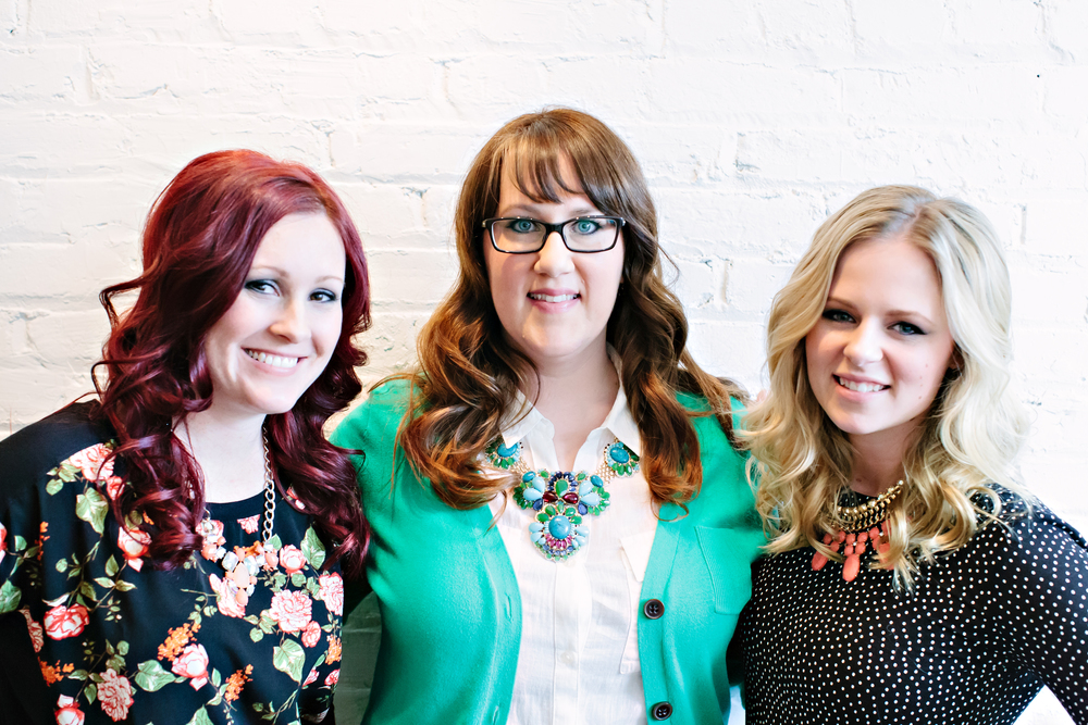 L: Beckee Kavanagh M: Heather Sauer R: Lexi McKenna  Photo by Lemon Fresh Designs
