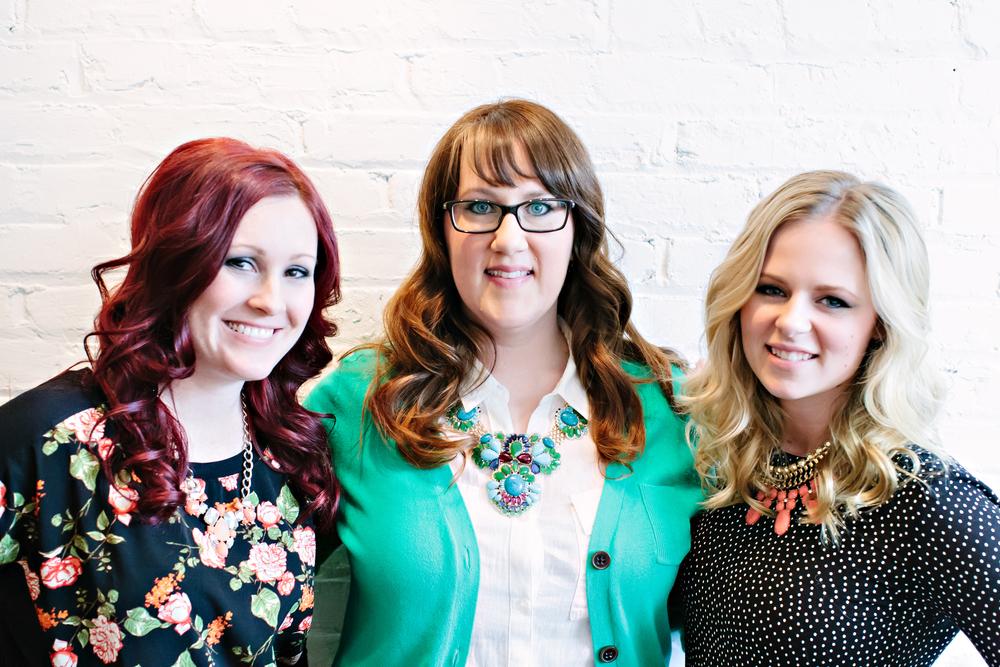 L: Beckee Kavanagh M: Heather Sauer R: Lexi McKenna Photo by Lemon Fresh Designs