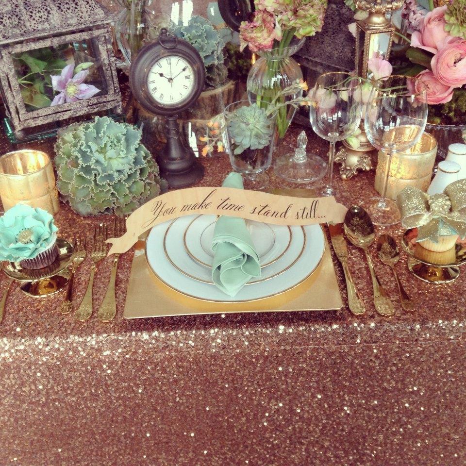 Joes Prop House, Planner: Kasal NY Photographer: J'adore Love, Florals: Ivy JoyRose Gold Caviar, Cupcakes:Cupcake et Macaron