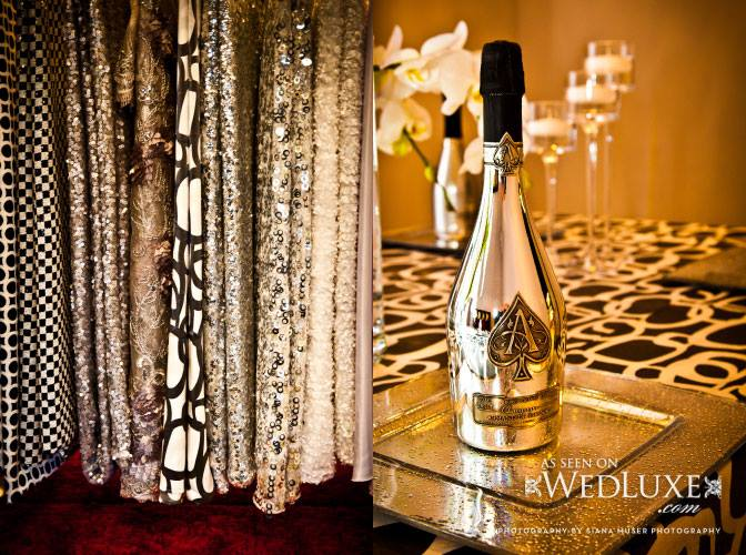 A shot form the Linen Closet's opening party, as seen on WEDLUXE.COM