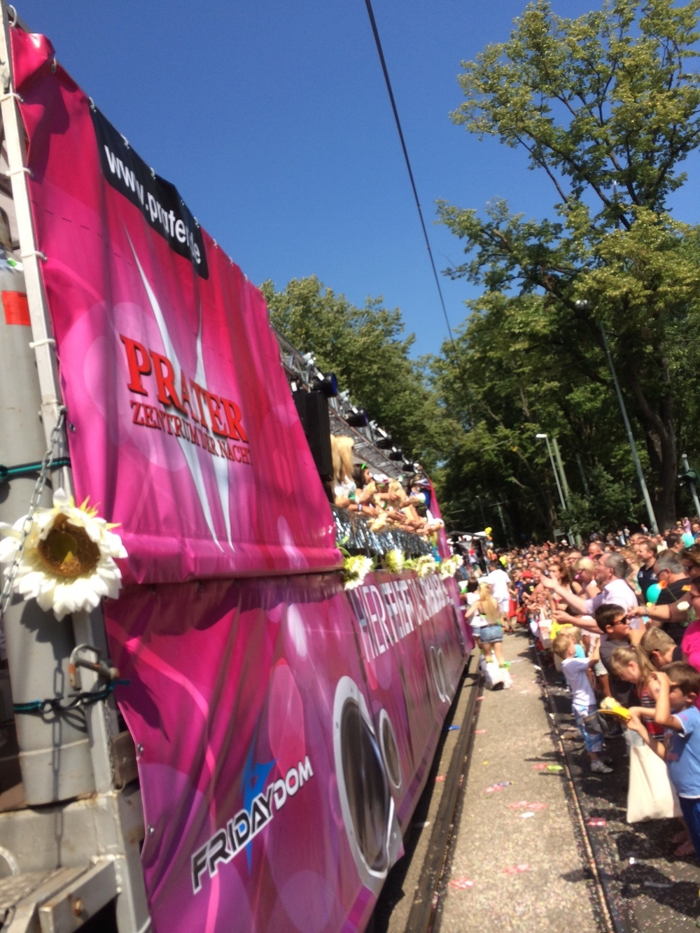 Prater Party Float