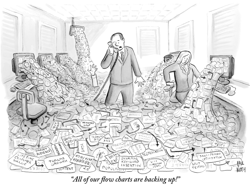 (c) 2013 The New Yorker / Paul North. With permission.