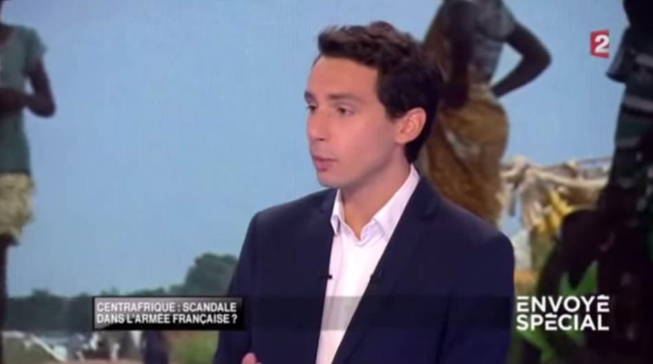 Reporter Pierre Monégier discusses his findings