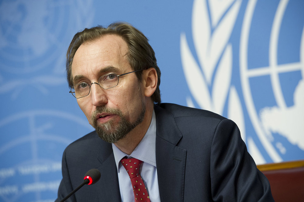 High Commissioner Zeid Ra'ad al-Hussein. Photo: UN Photo/Violaine Martin