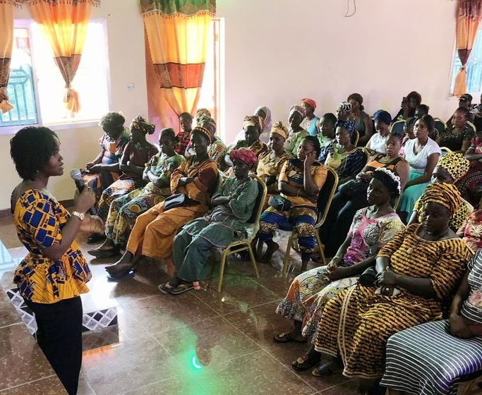 "community consultation: sierra Leone - In May 2018, Code Blue held its first ""Community Consultation"" in Sierra Leone, hearing from over 100 residents of Mile 91, a town in the country's Northern Province. Read more about the consultation and what it revealed →"