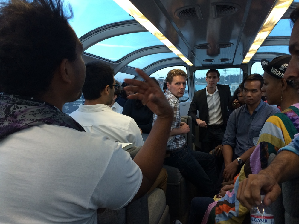 8/8/14  |Special Advisor for Global Youth Issues at the State Department,Andy Rabens recounts his time as an on train mentor  here .