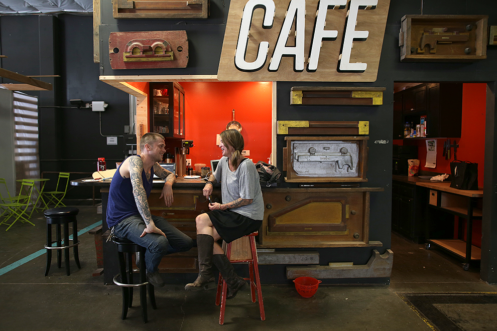 ADX, a maker space in Portland, Oregon gives a tour of their community-focused workspace and a talk on how to blend career and hobby.