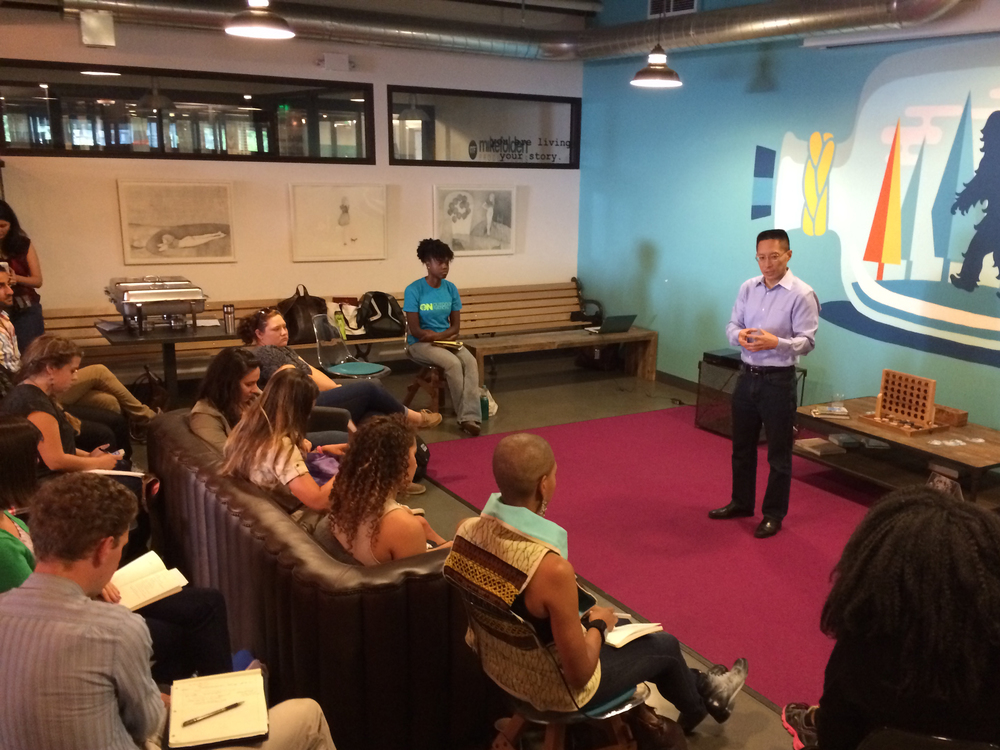 Eric Liu, Founder of Citizen University, talks to us about effective citizenship and building culture in Seattle's coworking space, WeWork.