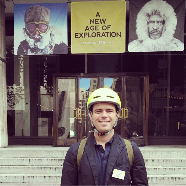 10/8/13  | Our founder + CEO was just brought on as the youngest-ever Editor-at-Large for  National Geographic Traveler  magazine. He will continue to serve as CEO of MTP in addition to his new role. Congrats, Patrick!
