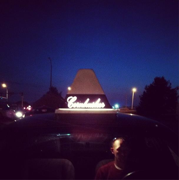 "8/13/13  | We've been using a fleet of taxis called ""Cornhuskers"" to get around Omaha, NE."
