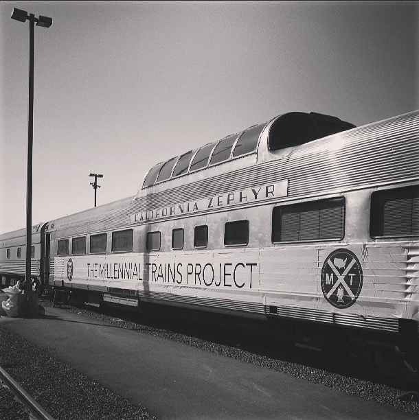 8/7/13  | Wow. First-ever picture of the first-ever Millennial Train. Oakland, CA.
