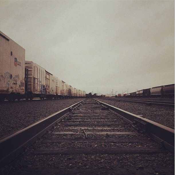 3/14/12  | At the rail yards in Oakland touring equipment we may use for our inaugural journey.