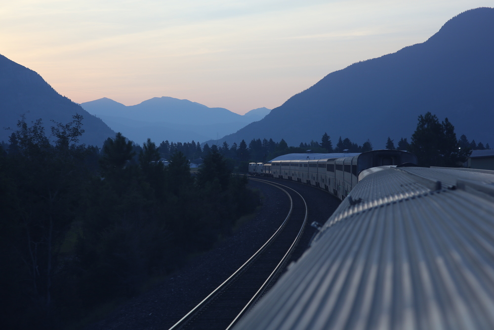 8/10/14  | Sunrise in Montana, due East. (Credit: Tyler Metcalfe, National Geographic Travel)