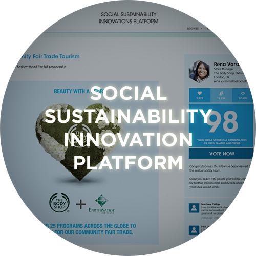 Social sustainability innovation platform