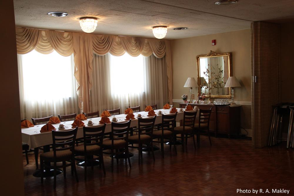 dining areas — the dayton woman's club